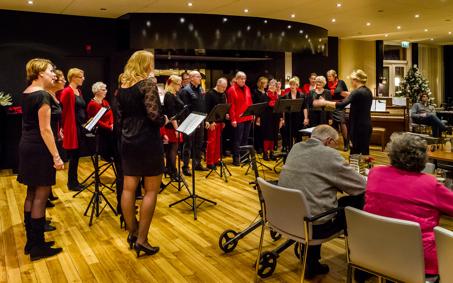 Optreden bij Hotel Bergse Bossen - 23 december 2013