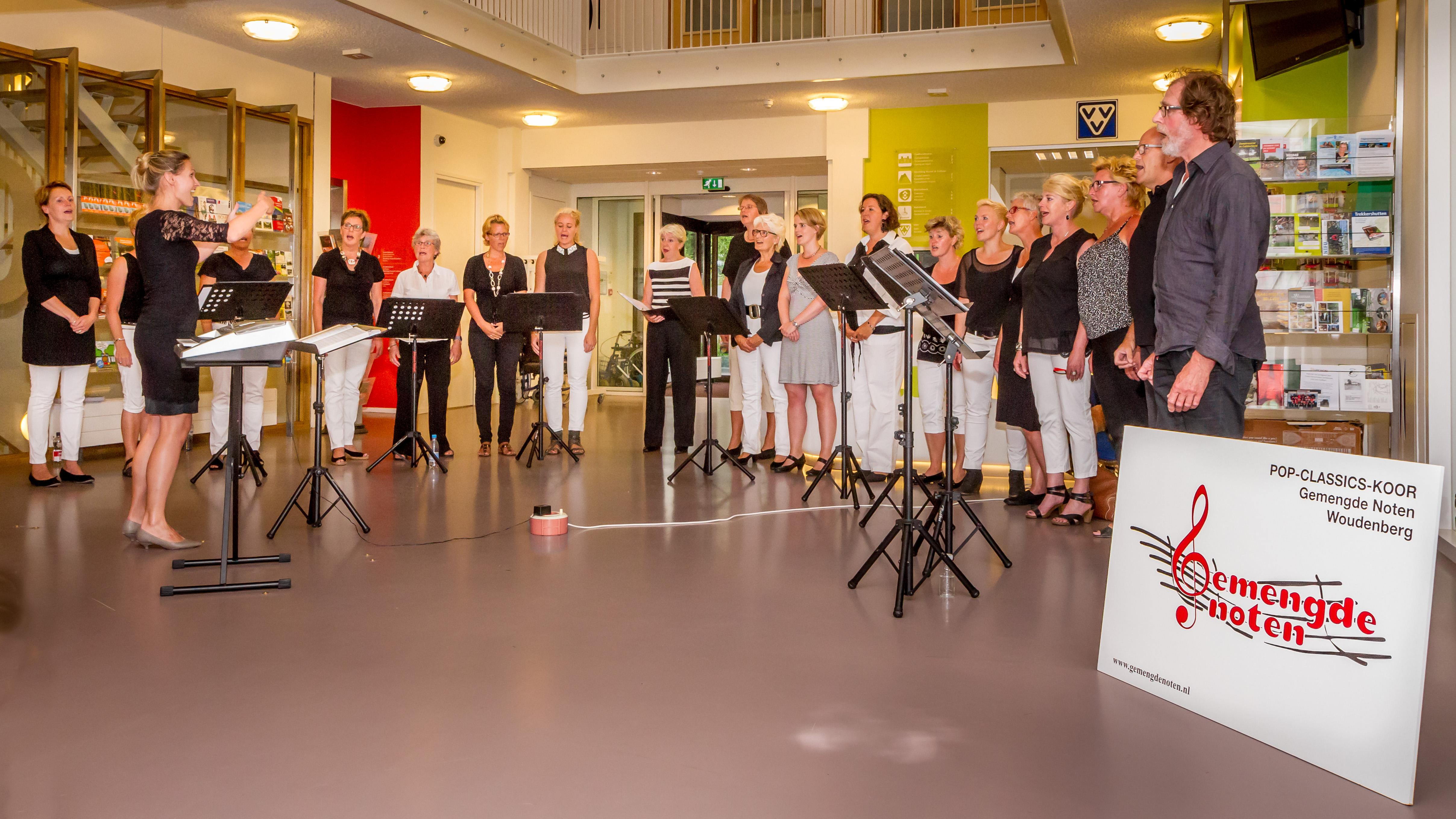 Mini-concert in het Cultuurhuis