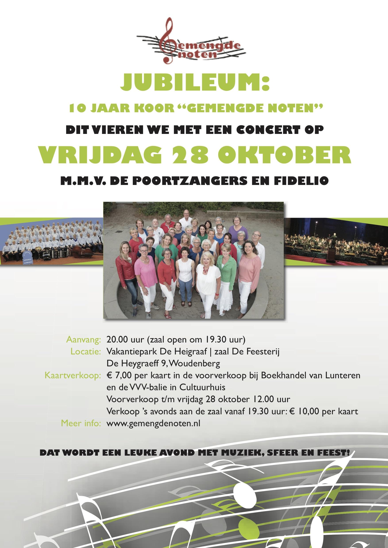 Poster-Flyer GN concert 28102016